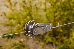 Tightener de rochet de fil de barrière Photos stock