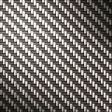 Tightly woven carbon fiber Royalty Free Stock Images