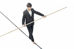 Tightrope Foto de Stock Royalty Free