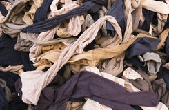 Tights on the market stall Royalty Free Stock Images
