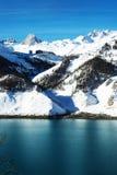 Tignes, горные вершины, Франция Стоковые Изображения RF