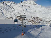 Tignes Photos stock