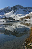 Tignes Royalty Free Stock Photo