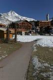Tignes. The village of Tignes in french alps Royalty Free Stock Photo