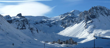 Tignes Royalty Free Stock Image