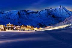 Tignes, Alpen, Frankreich Stockbild
