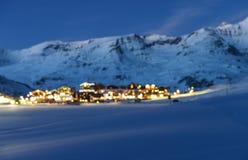 Tignes, alpi, Francia Fotografie Stock