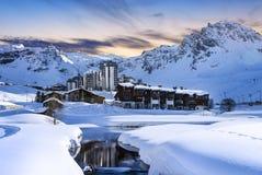 Tignes, alps, France Royalty Free Stock Image