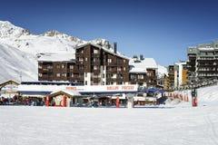 Tignes, alps, France Stock Image