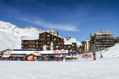 Tignes, alps, France Royalty Free Stock Images