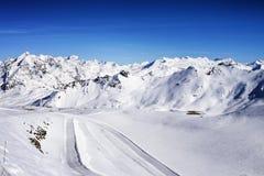 Tignes, alps, France Stock Images