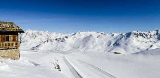 Tignes, alps, France Stock Images
