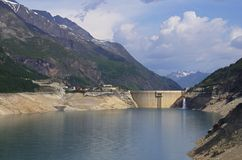 Tignes Dam France Royalty Free Stock Image