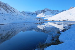 Tignes. French Alps. Royalty Free Stock Photography