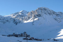 Tignes / Val Claret Ski-Resort Stock Photography