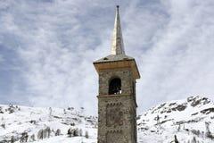 Tignes 1800, Winter ski resort of Tignes-Val d Isere, France Stock Photo