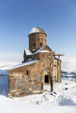 Tigran Honents church in Ani ancient city, Kars, Turkey. Tigran Honents church in Ani is a ruined medieval Armenian city now situated in the Turkey`s province of Stock Photos