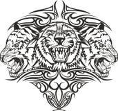 tigrar royaltyfri illustrationer
