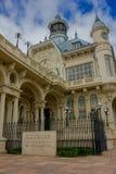 TIGRE,阿根廷- 2016年5月02日:tigre美术馆的大门在1910年builded 免版税库存照片