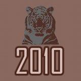Tigre 2010 fotografia de stock royalty free