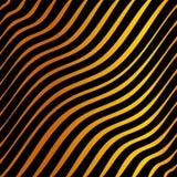 Tigre anaranjado y negro rayado stock de ilustración