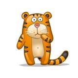 Tigre d'amusement Photographie stock