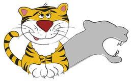 Tigre de bébé Illustration Stock