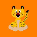 Tigre de bebé Imágenes de archivo libres de regalías