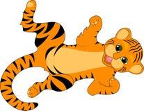 Tigre de chéri illustration stock