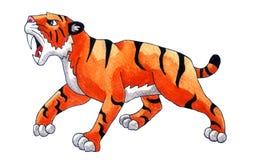 Tigre de dent de sabre illustration libre de droits