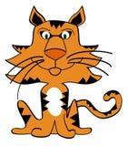 tigre de dessin animé Image stock