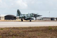 TIGRE de F-5EM II do FABULOSO na operação Cruzex fotos de stock royalty free