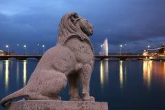 Tigre de Genève Photo libre de droits
