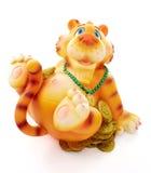 Tigre de jouet Photographie stock libre de droits
