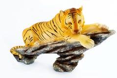 Tigre de jouet Photo libre de droits