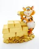 Tigre de jouet Photo stock