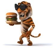 Tigre de la diversión Fotos de archivo
