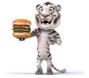 Tigre de la diversión Fotografía de archivo