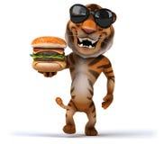 Tigre de la diversión Fotografía de archivo libre de regalías