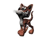 Tigre de la felpa Stock de ilustración