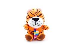 Tigre de nounours de jouet Image libre de droits