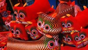 Tigre de tissu Images stock
