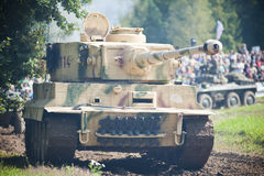 Tigre del carro armato Immagini Stock