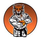 Tigre del combattente del Muttahida Majlis-E-Amal illustrazione di stock