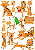 Tigre del gato stock de ilustración