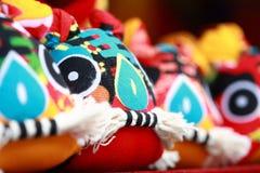 Tigre del paño de la artesanía del chino tradicional Fotografía de archivo