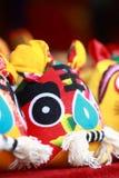 Tigre del paño de la artesanía del chino tradicional Fotografía de archivo libre de regalías