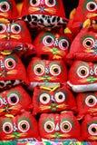 Tigre del paño de la artesanía del chino tradicional Fotos de archivo libres de regalías