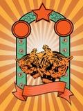 Tigre del sunray Stock de ilustración