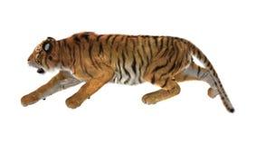 tigre della rappresentazione 3D su bianco Fotografia Stock